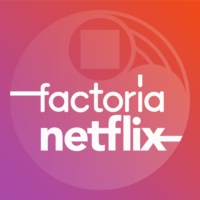 Logo of the podcast Factoría Netflix