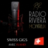 Logo of the podcast RADIO RIVIERA MONTREUX - SWISS GIGS avec FLAVIO