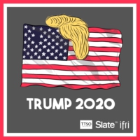 Logo du podcast Trump 2020