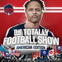 Logo of the podcast The Totally Football Show: American Edition