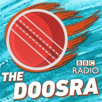 Logo of the podcast Doosra special with Pakistan's new Director of Cricket Wasim Khan