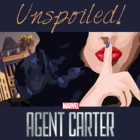 Logo of the podcast UNspoiled! Agent Carter