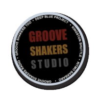 Logo of the podcast grooveshakers 18