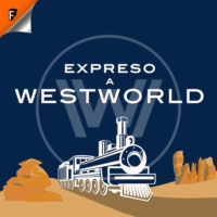 Logo of the podcast S03E03: The absence of field - Expreso a Westworld