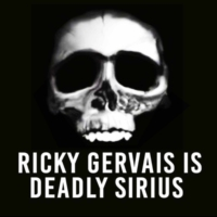 Logo of the podcast Out Now - The Ricky Gervais Guide To... Society
