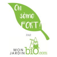 Logo du podcast On sème FORT !  Le podcast du jardinage bio et de la permaculture