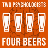 Logo du podcast Two Psychologists Four Beers