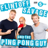 Logo of the podcast Flintoff, Savage and the Ping Pong Guy