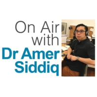 Logo of the podcast Dr Amer Siddiq on Mental Health