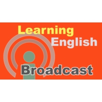 Logo of the podcast Learning English Broadcast - January 18, 2021