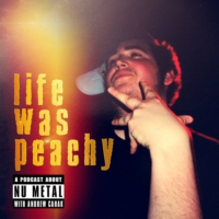 Logo du podcast Life Was Peachy: The War of Art by American Head Charge with Brad Gunnarson