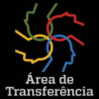 Logo of the podcast Área de Transferência