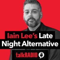 Logo of the podcast The Late Night Alternative with Iain Lee
