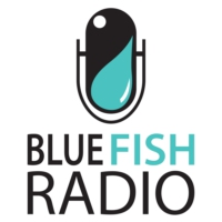 Logo of the podcast The Blue Fish Radio Show