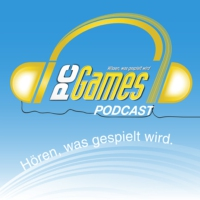 Logo du podcast PC Games Podcast 383 mit Elex und E3-Orakel