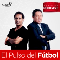 Logo of the podcast El Pulso del Fútbol