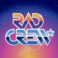 Logo of the podcast Rad Crew Neon S15E09: The Rocketeer + Intervju med Billy Campbell