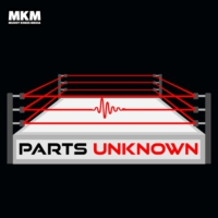 Logo of the podcast The Parts Unknown wrestling podcast