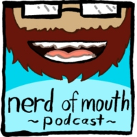 Logo of the podcast Nerd of Mouth - Series Finale