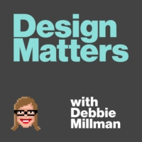 Logo du podcast Design Matters with Debbie Millman