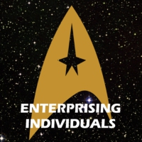 "Logo du podcast Star Trek: Discoverage LIVE Episode 1 & 2 ""The Vulcan Hello & Battle..."""