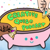 Logo of the podcast Creative Queso Podcast