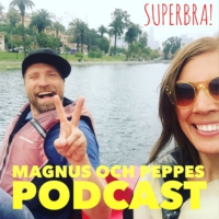 Logo du podcast Magnus och Peppes podcast