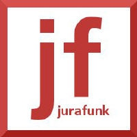 Logo du podcast Jurafunk Nr. 57: Facebook Like-Button, Google Street View, Blutentnahme und Richtervorbehalt