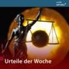 Logo of the podcast Urteile der Woche von MDR AKTUELL