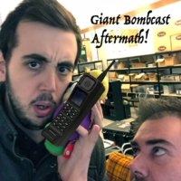Logo of the podcast Giant Bombcast Aftermath: Little Cesars Ordering. With an App. On your Phone with Jeff and Ben
