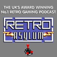 Logo du podcast Retro Asylum -  The UK's No.1 Retro Gaming Podcast