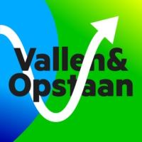 Logo du podcast Vallen en opstaan
