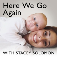 Logo of the podcast Here We Go Again with Stacey Solomon