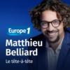 Logo of the podcast Le tête-à-tête - Matthieu Belliard