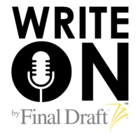 Logo du podcast Write On with screenwriter Crosby Selander and Guest-Host Lee Jessup