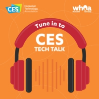 Logo of the podcast CES Tech Talk