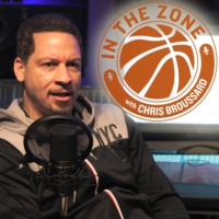 Logo of the podcast In The Zone with Chris Broussard