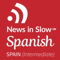 Logo of the podcast Spanish Podcast