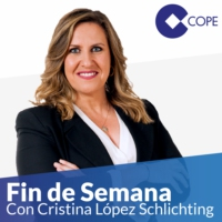 "Logo of the podcast Fin de Semana (27/03/2021) - De 10:00 a 11:00: Cristina:""Sánchez, contra Ayuso para intentar recupe…"