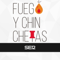 Logo of the podcast Fuego y Chinchetas