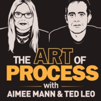 Logo of the podcast The Art of Process with Aimee Mann and Ted Leo
