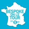 Logo of the podcast BeSpoke: at the Tour de France