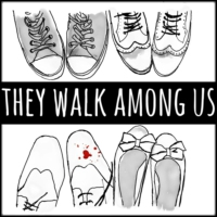 Logo of the podcast They Walk Among Us - UK True Crime