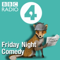 Logo of the podcast Friday Night Comedy from BBC Radio 4