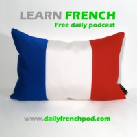 Logo of the podcast Learn French with daily podcasts