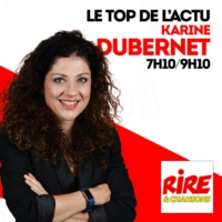 Logo of the podcast Karine Dubernet - Covid en France et Trump métamorphosé - Le top de l'actu