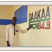 Logo of the podcast en direct radio daakaafm 94.9