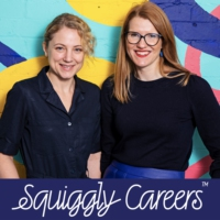 Logo of the podcast Squiggly Careers