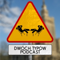 Logo of the podcast Dwóch Typów Podcast
