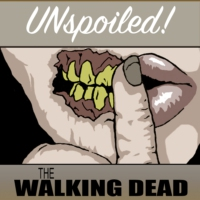 Logo of the podcast UNspoiled! The Walking Dead